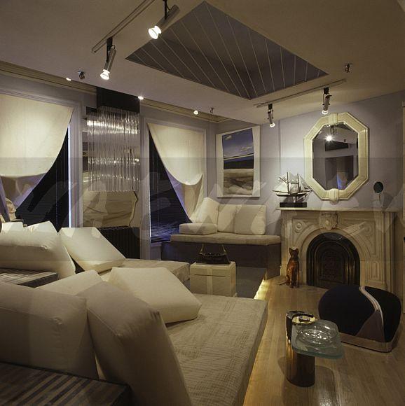 Image: Track Lighting In Eighties Apartment Bedroom