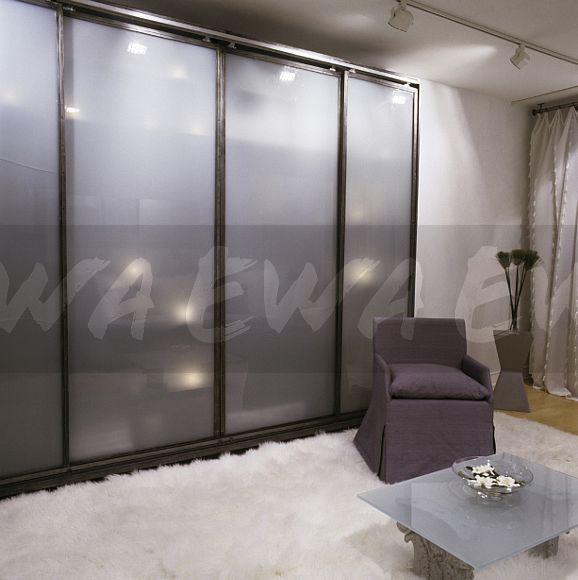 Bedroom Black Rug Glass Bedroom Door Bedroom Paint Ideas Feature Walls Bedroom Door Colors: Image: Opaque Glass Sliding Doors On Wardrobe In Retro